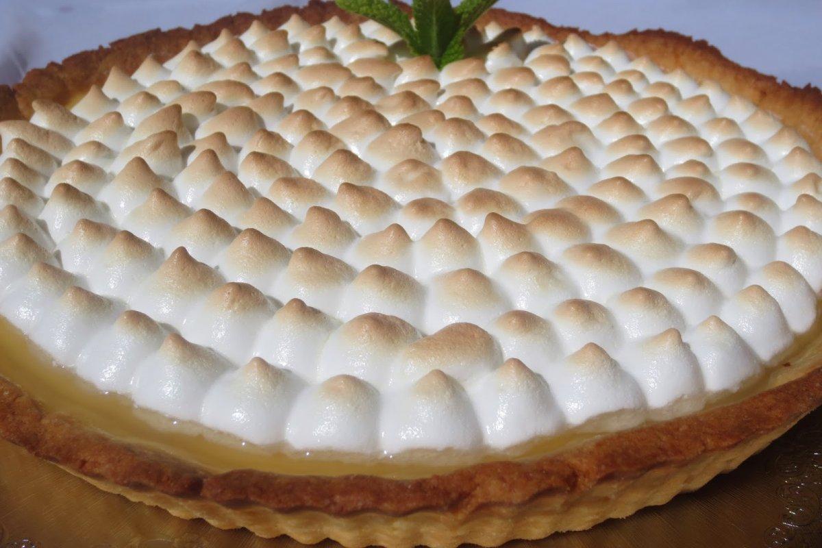 Lemon pie o tarta de lemon curd