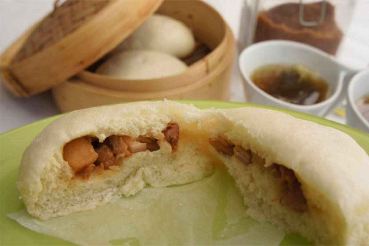 Pan chino al vapor