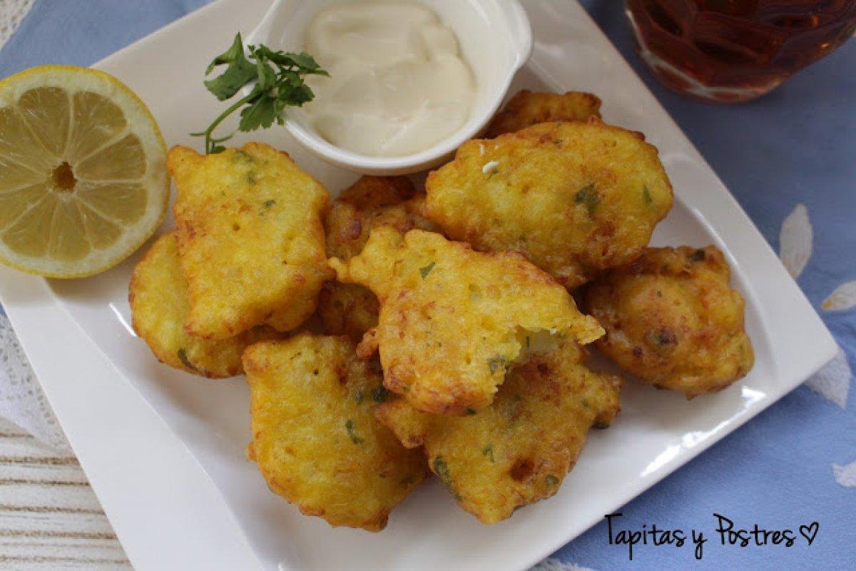 Tortillitas de coliflor
