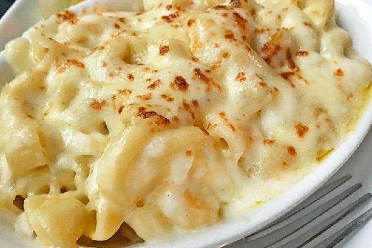 Macarrones al queso estilo americano