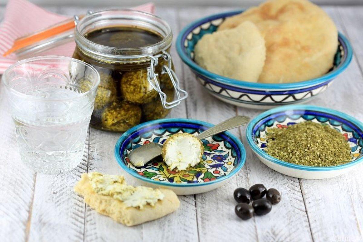 Labneh, queso de yogur