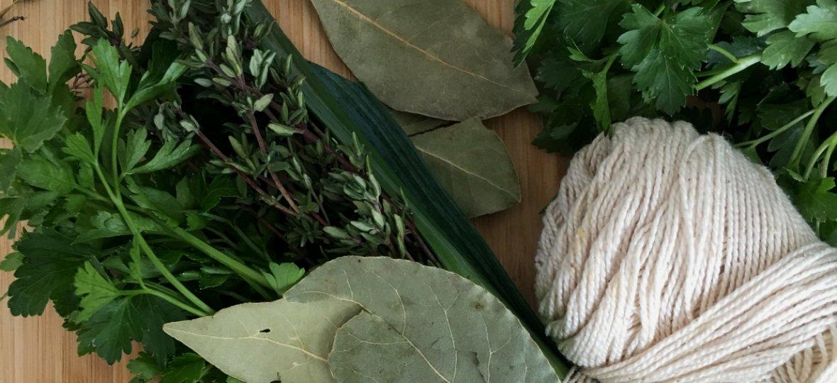 Prepara un Bouquet Garni con tus hierbas aromáticas preferidas