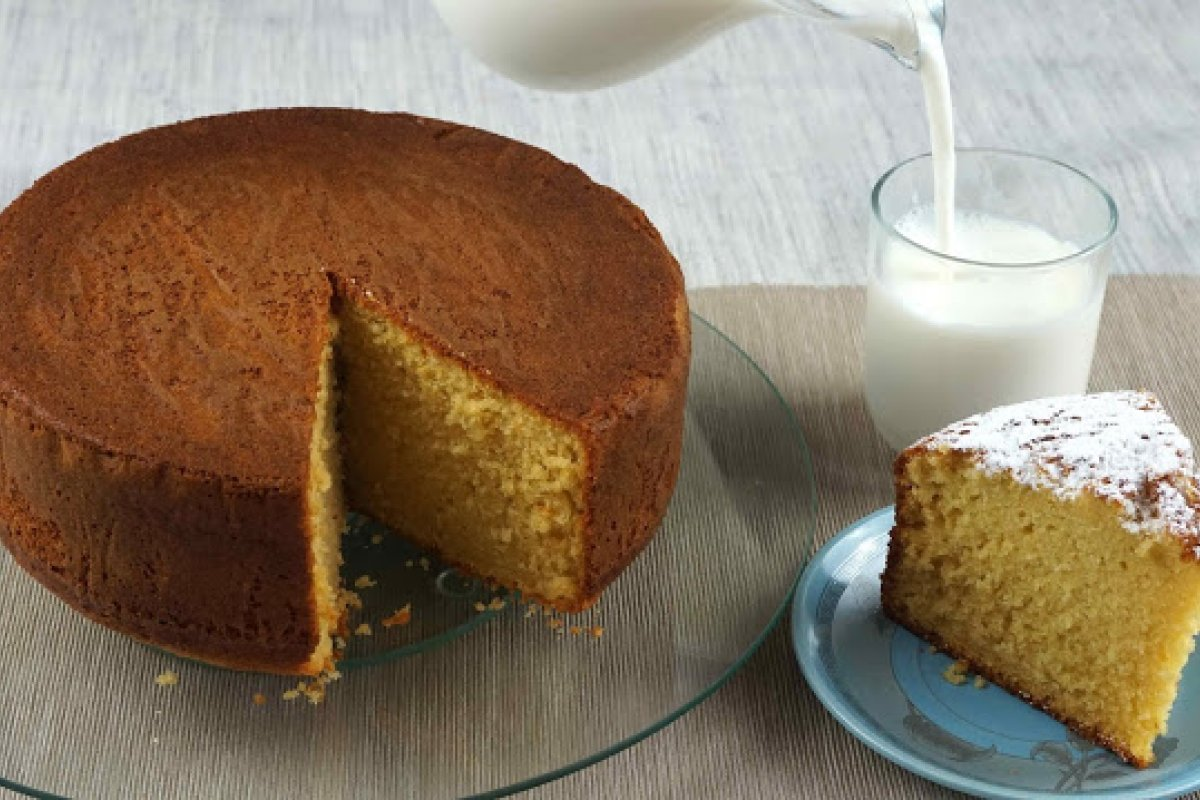 Bizcocho de vainilla especial para tartas