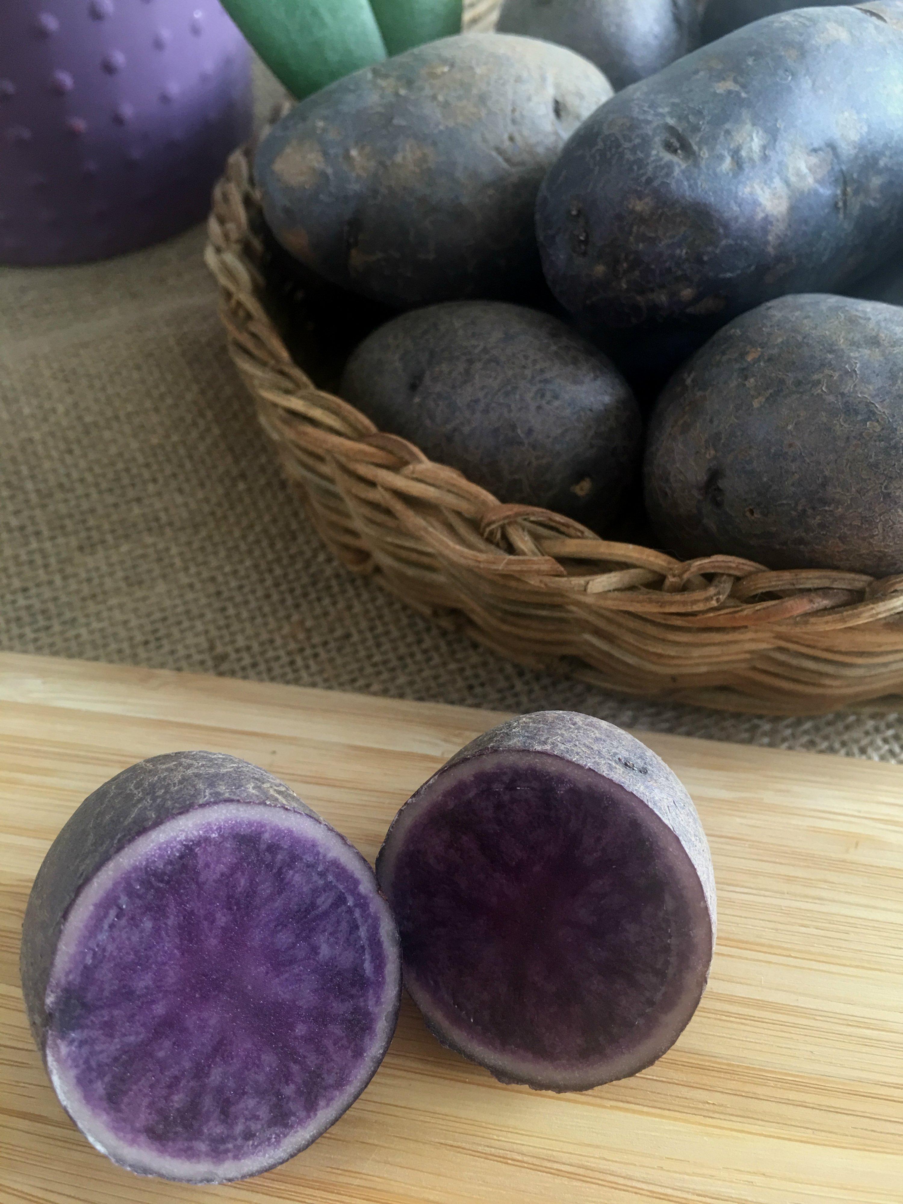 Patata violeta: que es, propiedades y como cocinarla