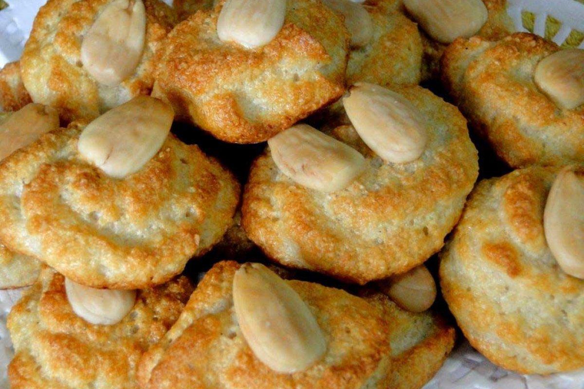 Galletas de almendras sin azúcar y sin gluten