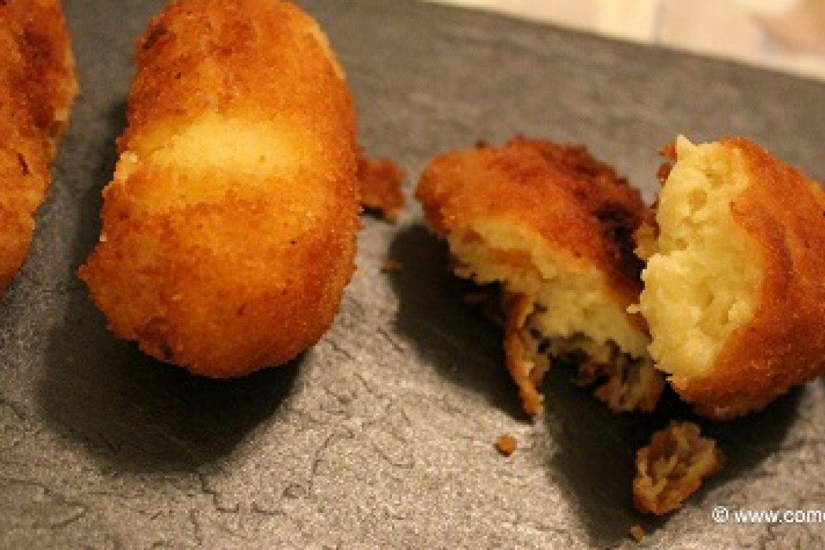Croquetas de merluza sin lactosa