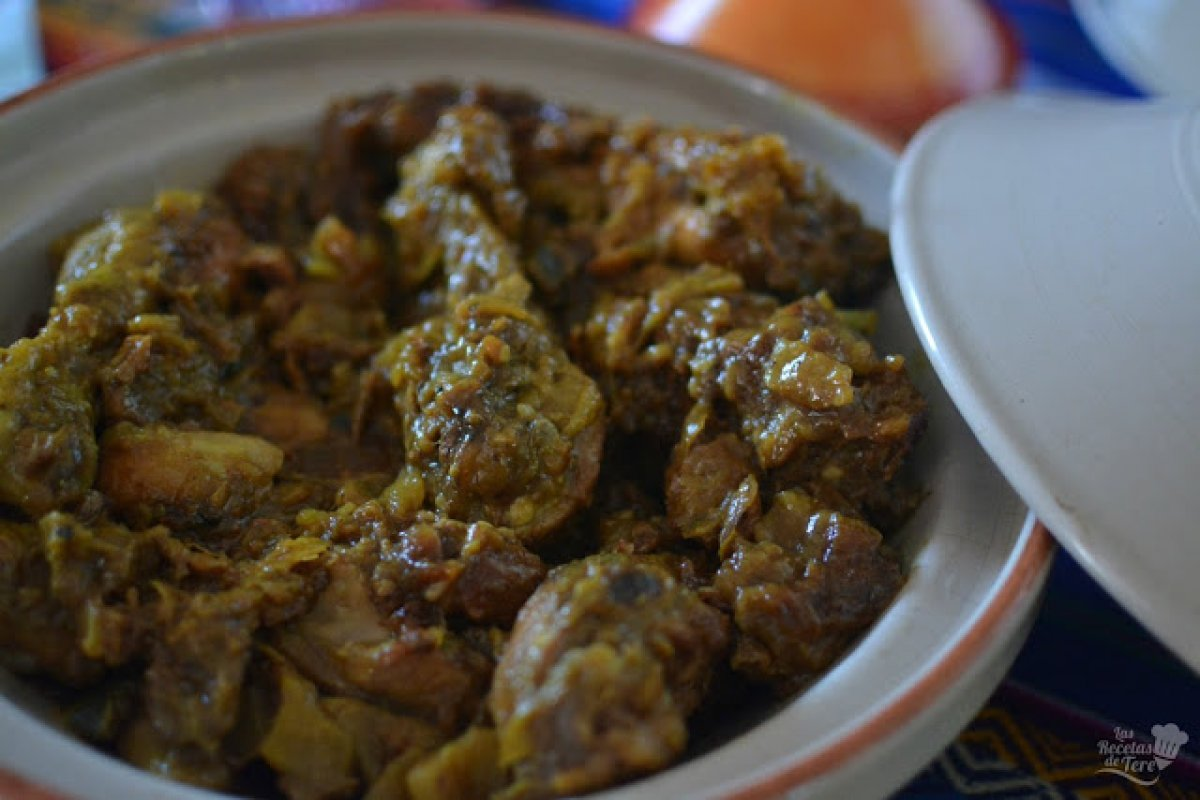Pollo al tamarindo