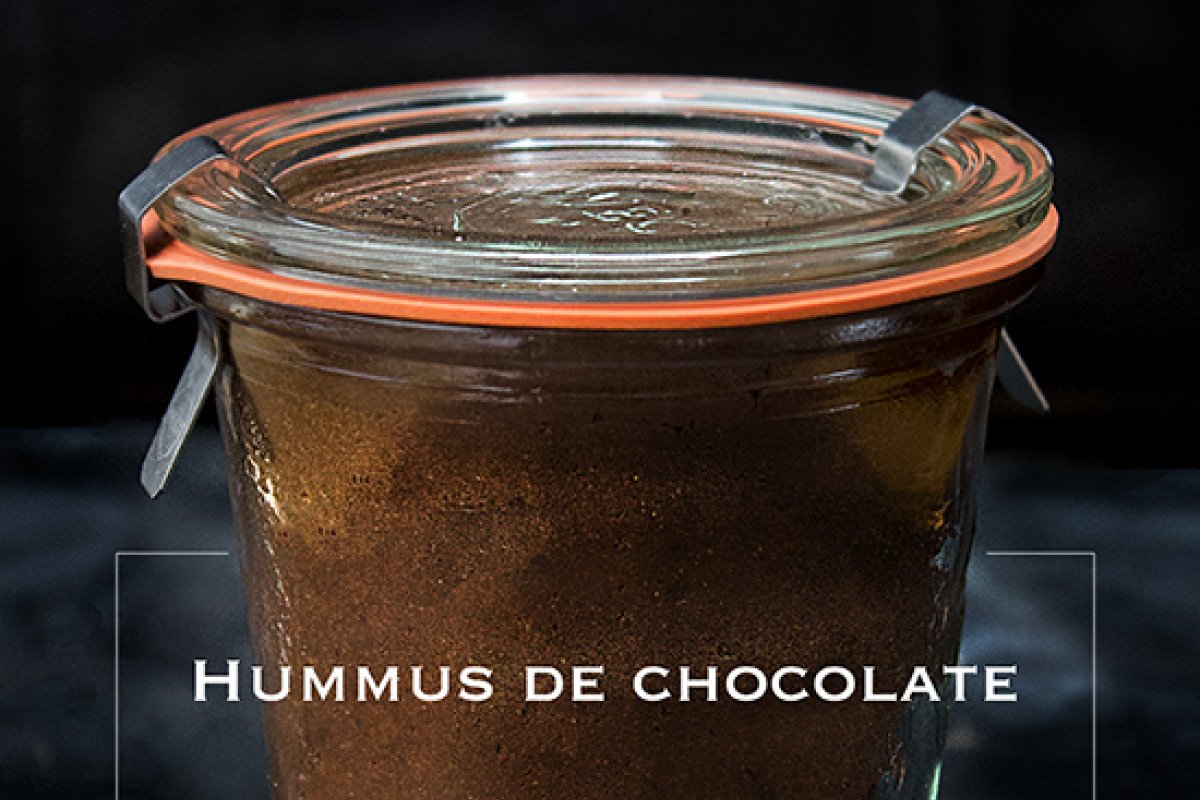 Hummus de chocolate
