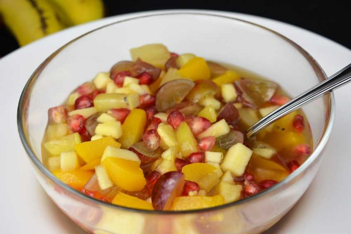 Cup de frutas especial para Navidad