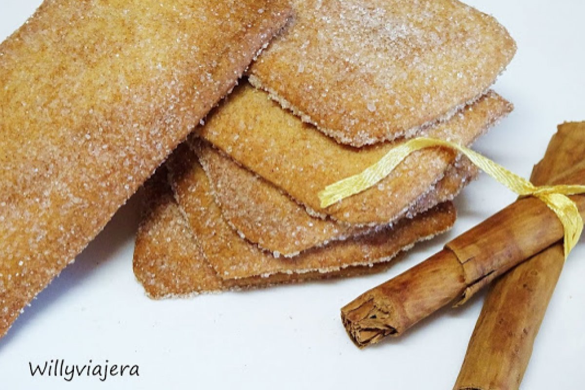 Galletas napolitanas de canela