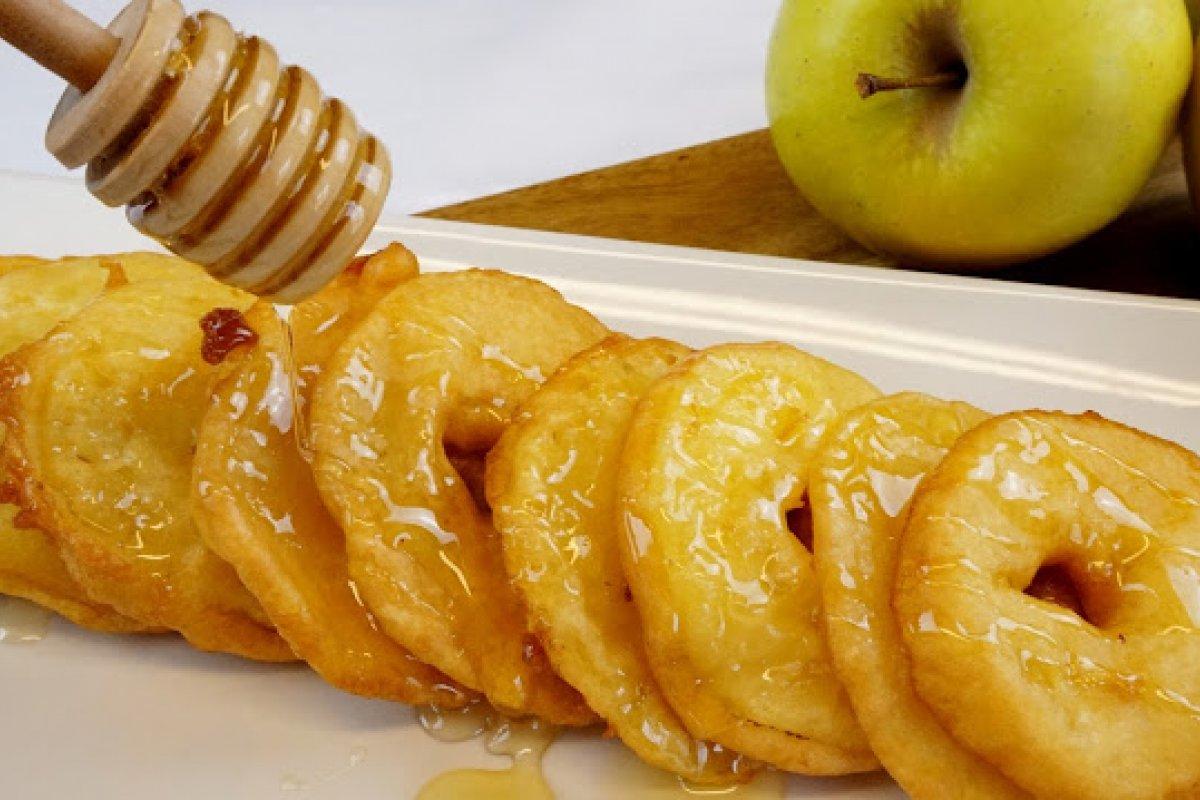 Buñuelos de manzana - fritelle di mele