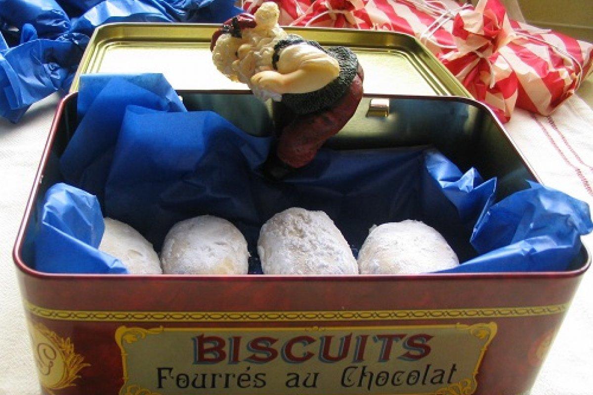Polvorones de azahar sin lactosa