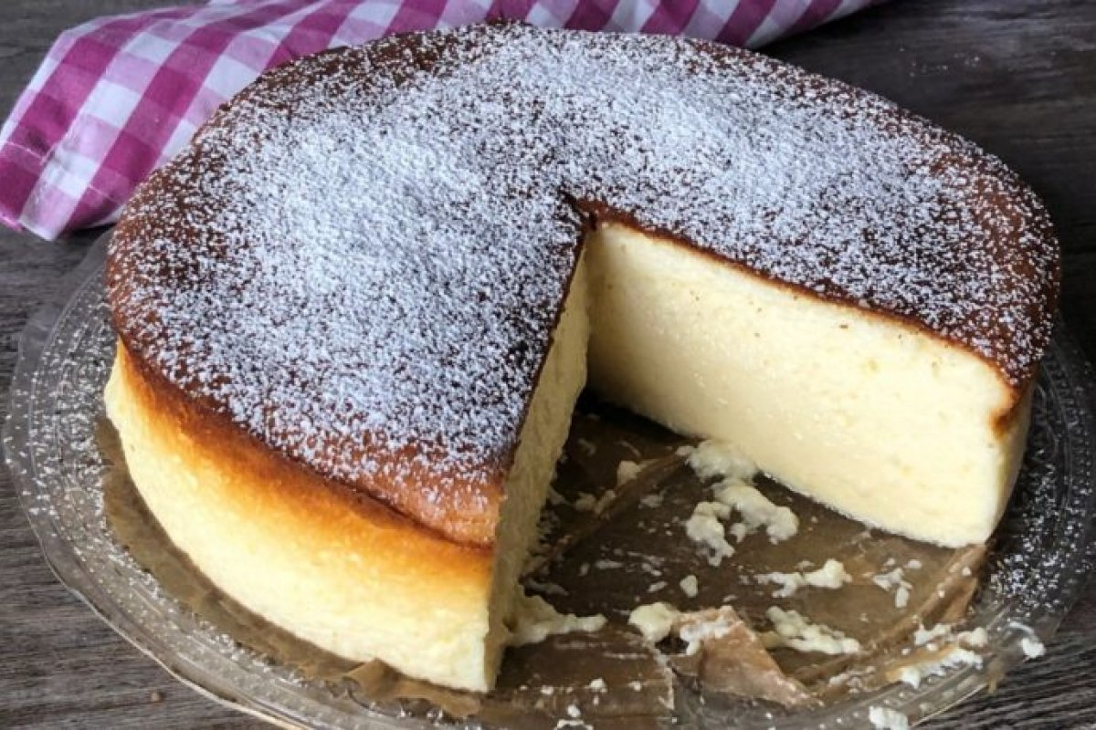 Tarta de queso de tres ingredientes