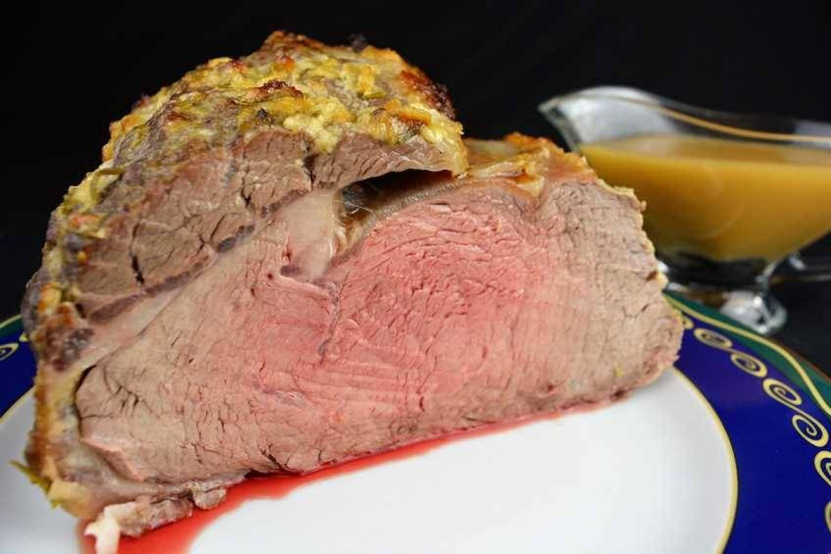 Roast beef al aroma de romero