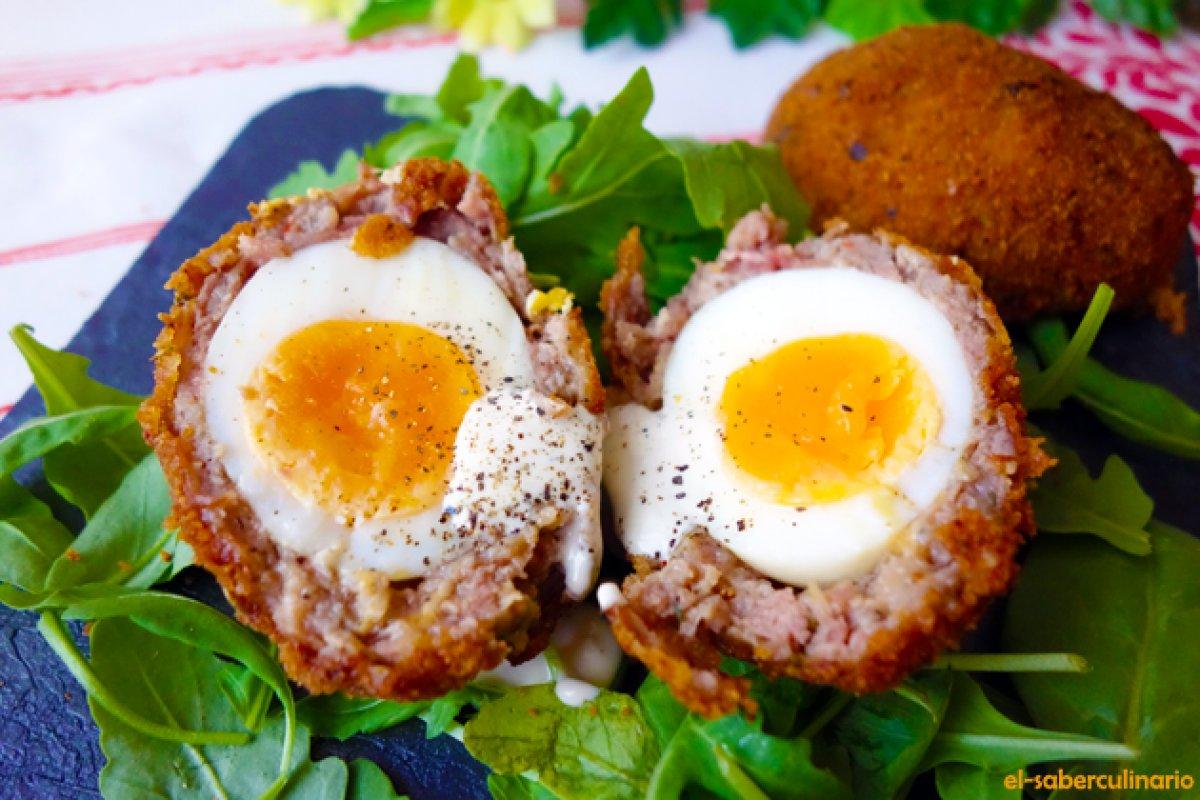 Huevos escoceses