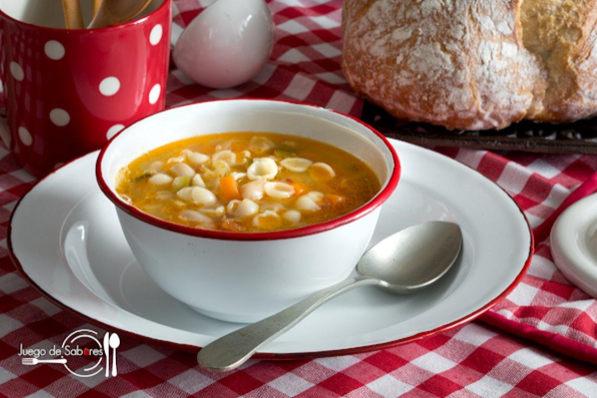 Sopa minestrone