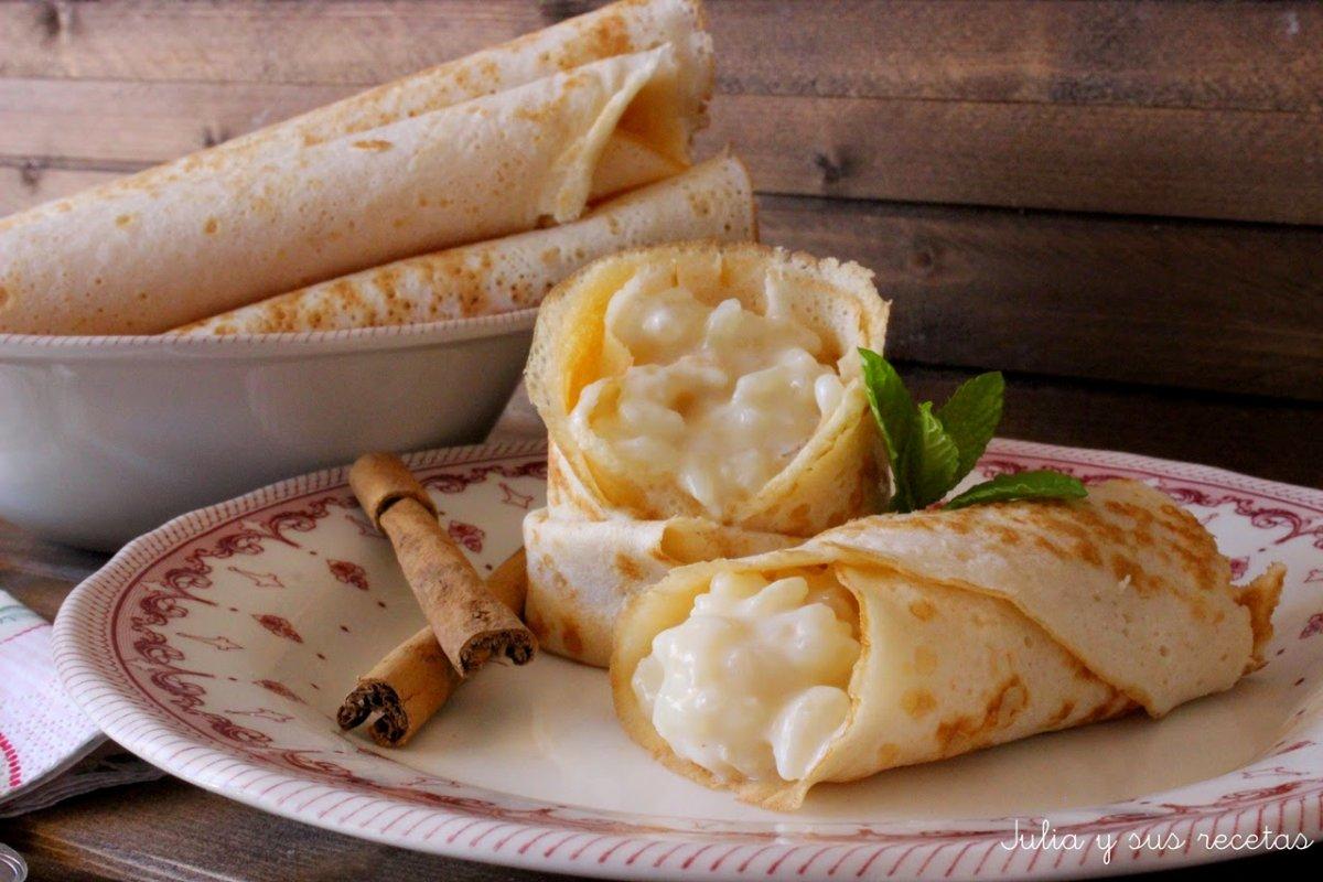 Frixuelos asturianos rellenos de arroz con leche (Sin gluten)