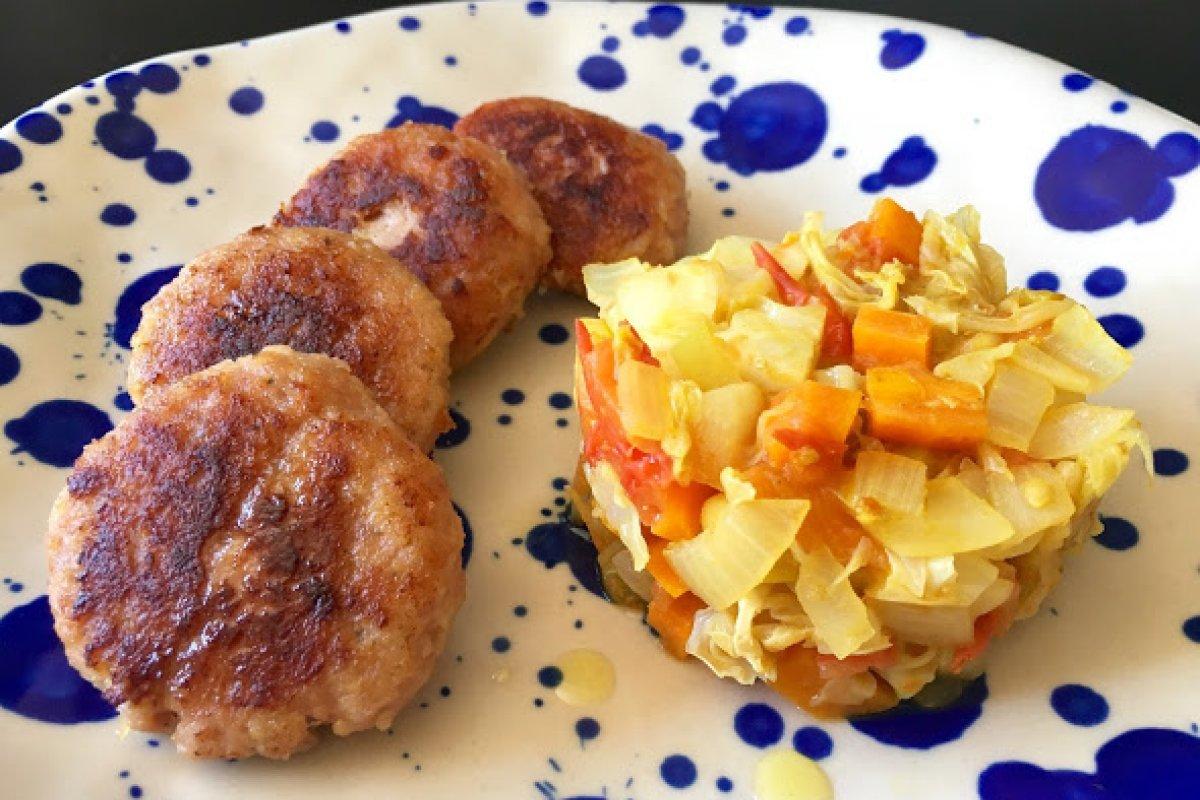 Filetes rusos de pollo (sin gluten / sin lactosa)