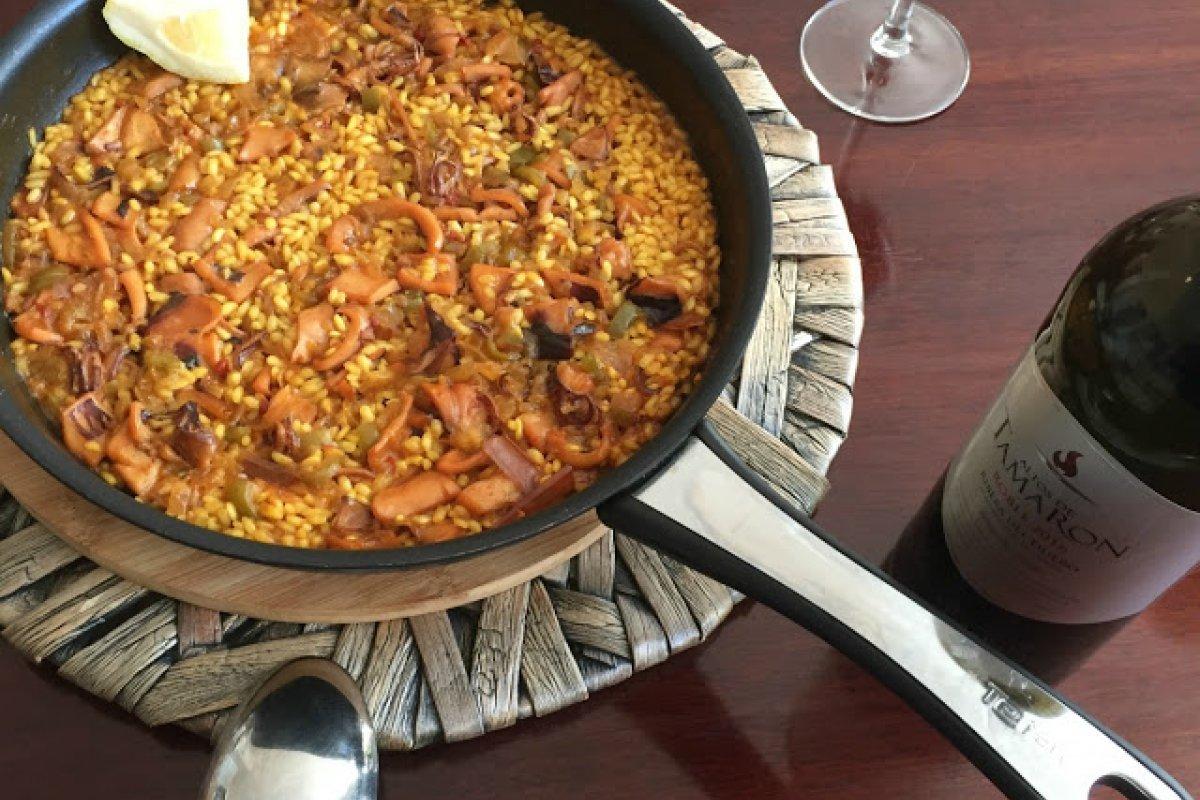 Arroz abanda con receta de Quique Dacosta
