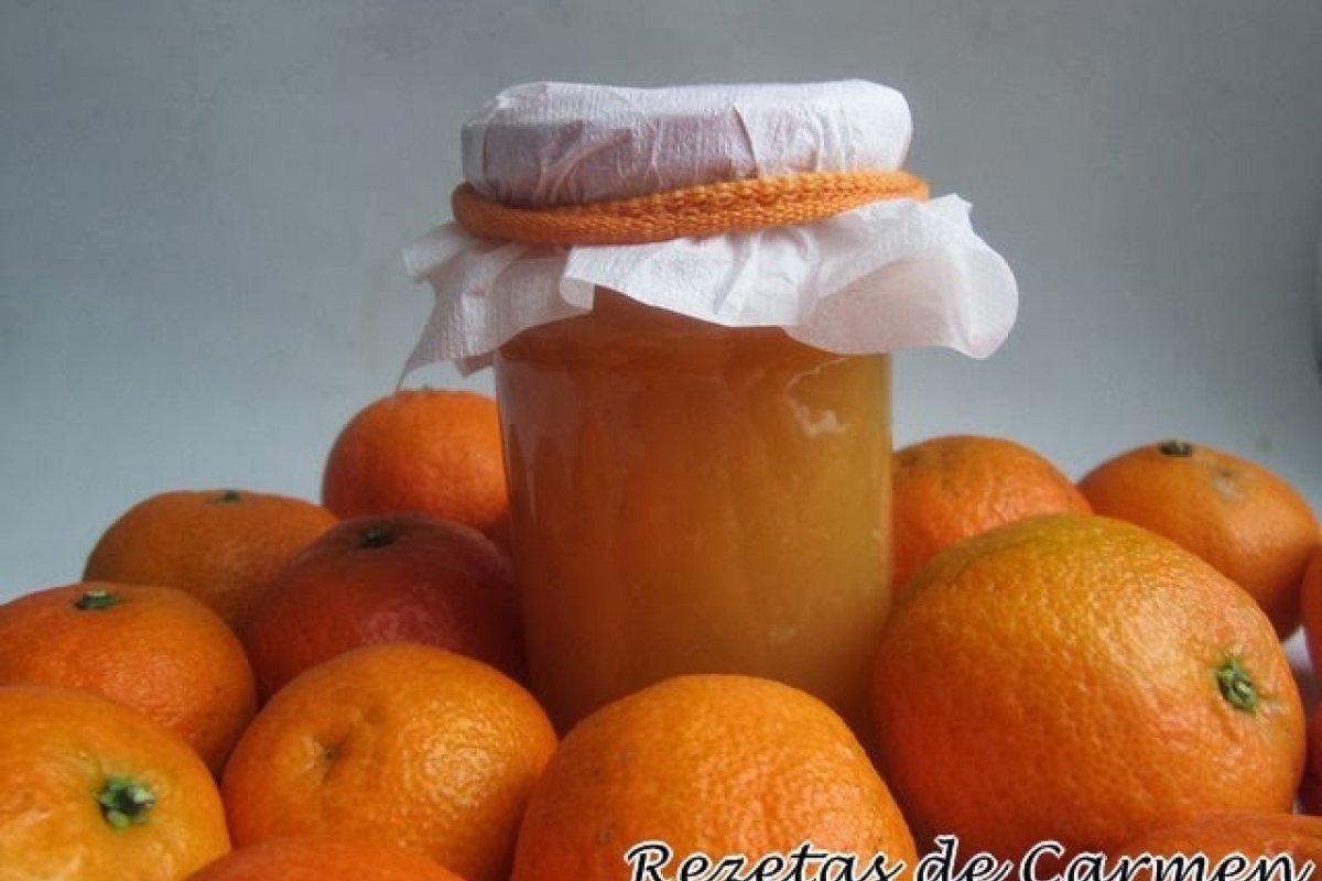 Mermelada de mandarina y agua de azahar