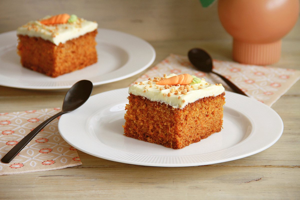 Pastel de zanahoria (carrot cake)