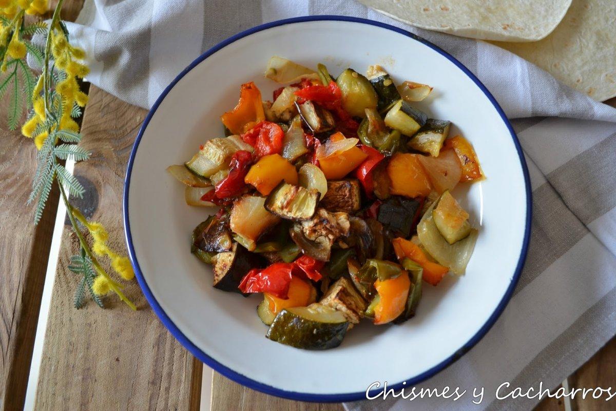 Mix de verduras asadas
