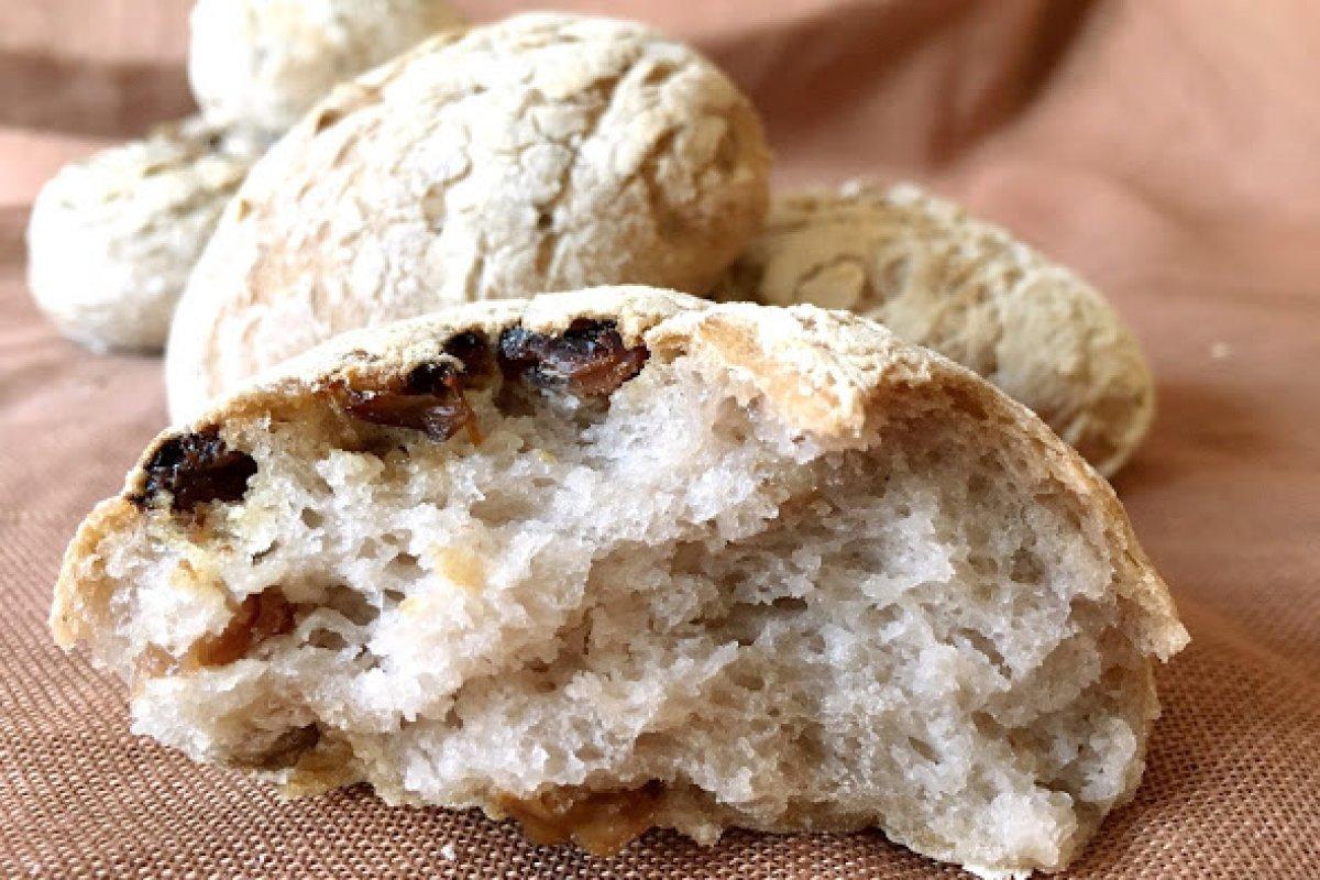 Pan de pasas y nueces (sin gluten / sin lactosa)