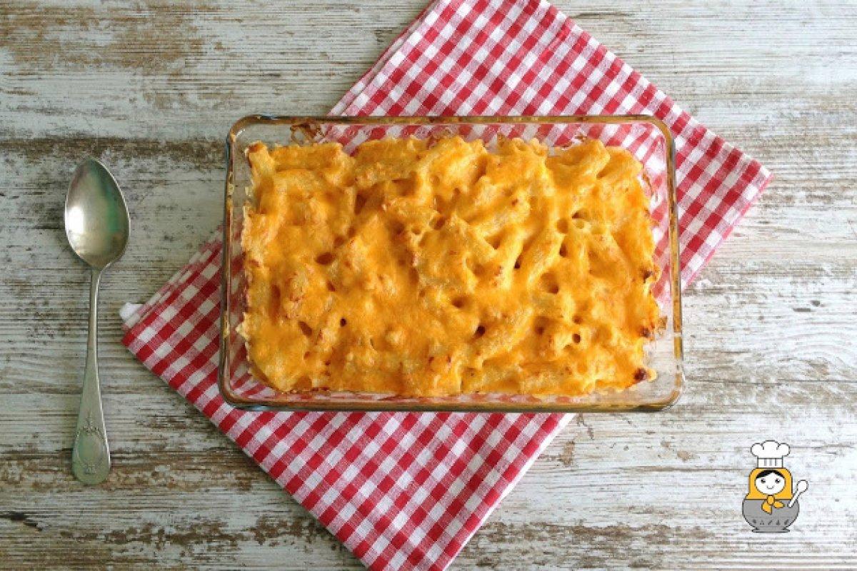Macarrones con queso al estilo americano