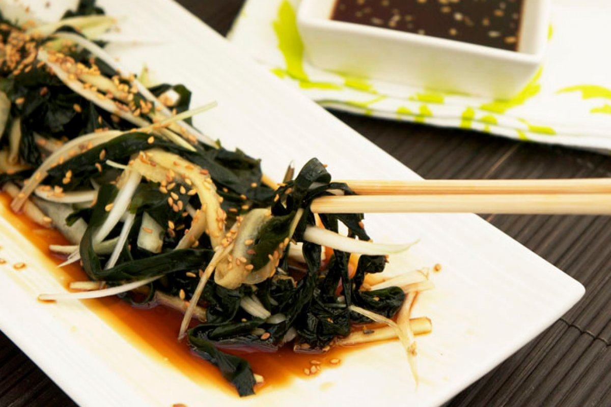 Ensalada de alga wakame