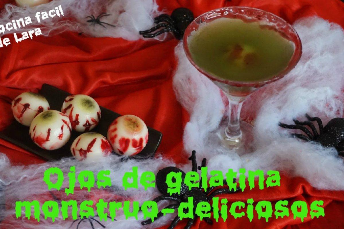 Ojos de gelatina sangrientos | sin gluten ni lactosa